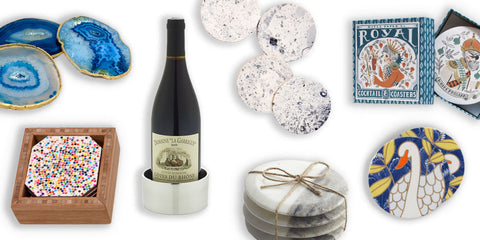 mapleton drive, best products magazine, featured, blue agate coasters, home decor, decor, accessories, style, gift ideas