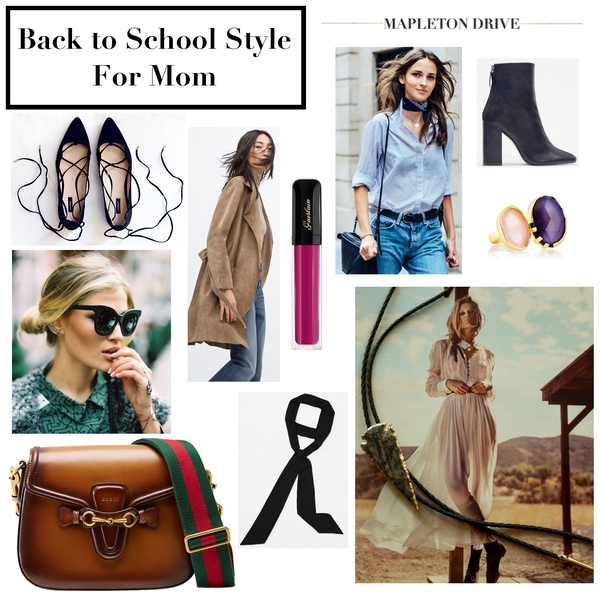 mapleton drive, back to school style, mom fashion, fashion, accessories, jewelry
