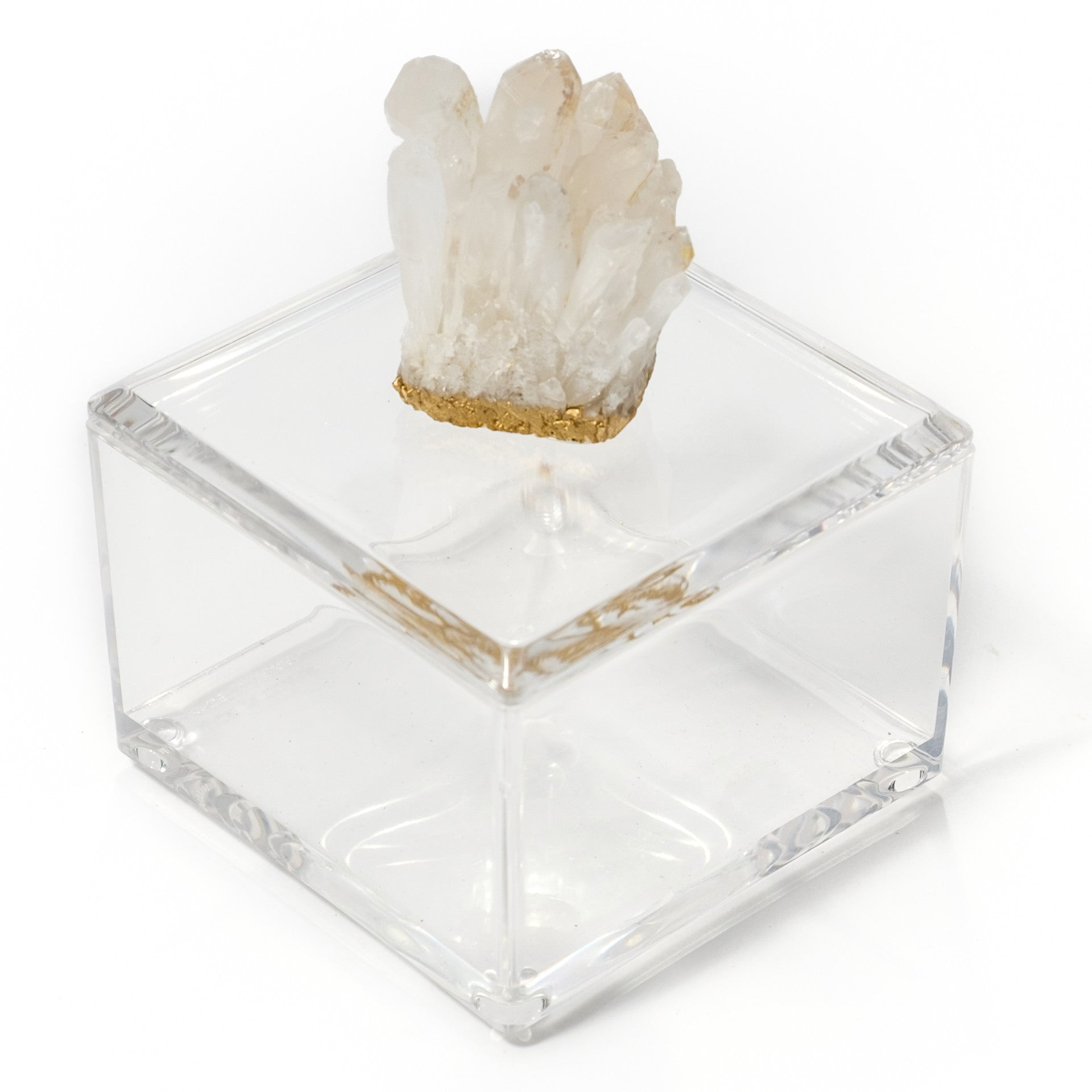 Small Acrylic Box w/ Himalayan Crystal