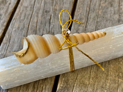Selenite Stick, Selenite crystal, Wellness gifts, reiki gifts in selenite, Healing crystal gift