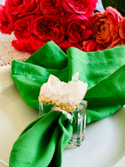 Napkin rings, Quartz Crystal, Jewelry for the table acrylic napkin rings, gemstone napkin rings, crystal napkin rings, table decor