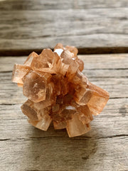 Very small onyx ring bowl with aragonite specimen, onyx bow with crystal, wellness gifts, gemstone