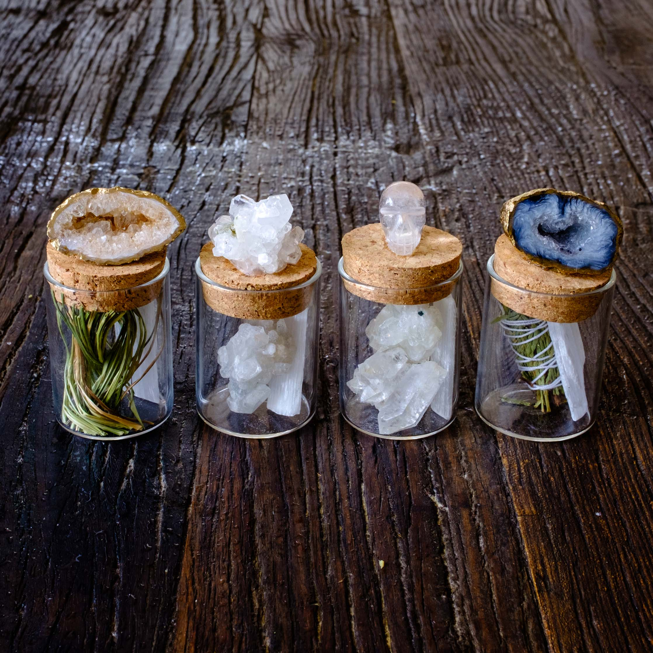The small medicine jar collection by Mapleton Drive