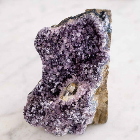 self standing black amethyst specimen by Mapleton Drive