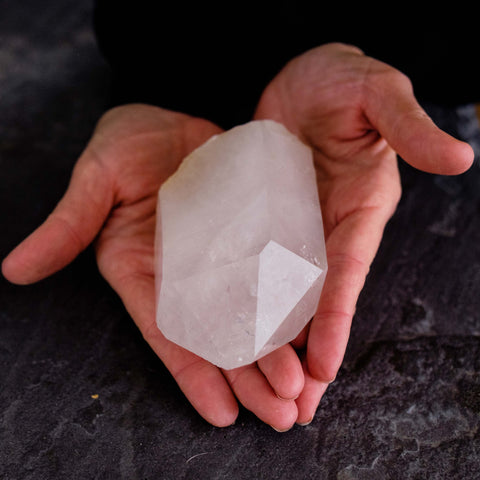 Medium Quartz Crystal Point 3