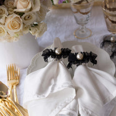 CC Pearl Napkin Rings by Mapleton Drive