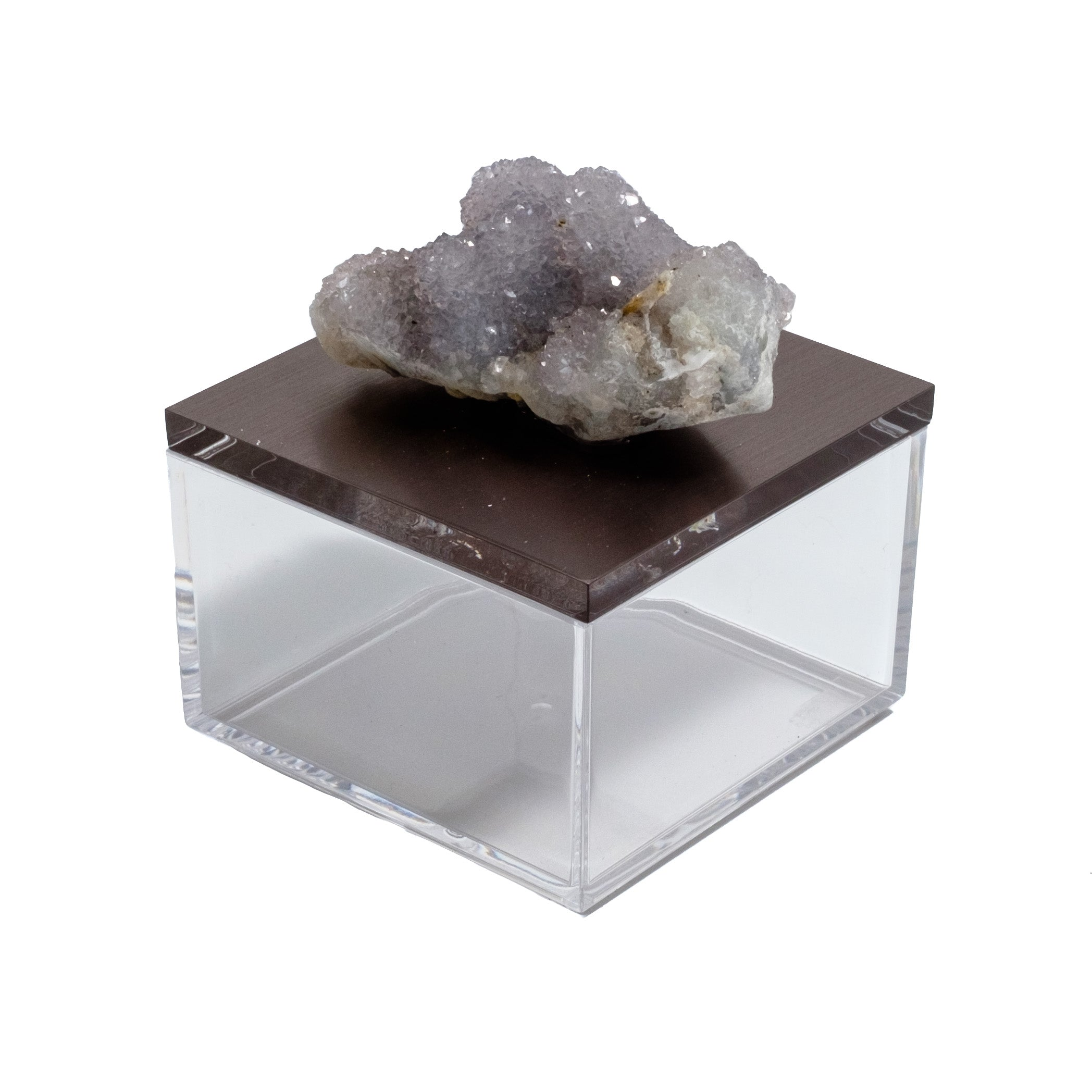 Gemstone box with spirit quartz by Mapleton Drive
