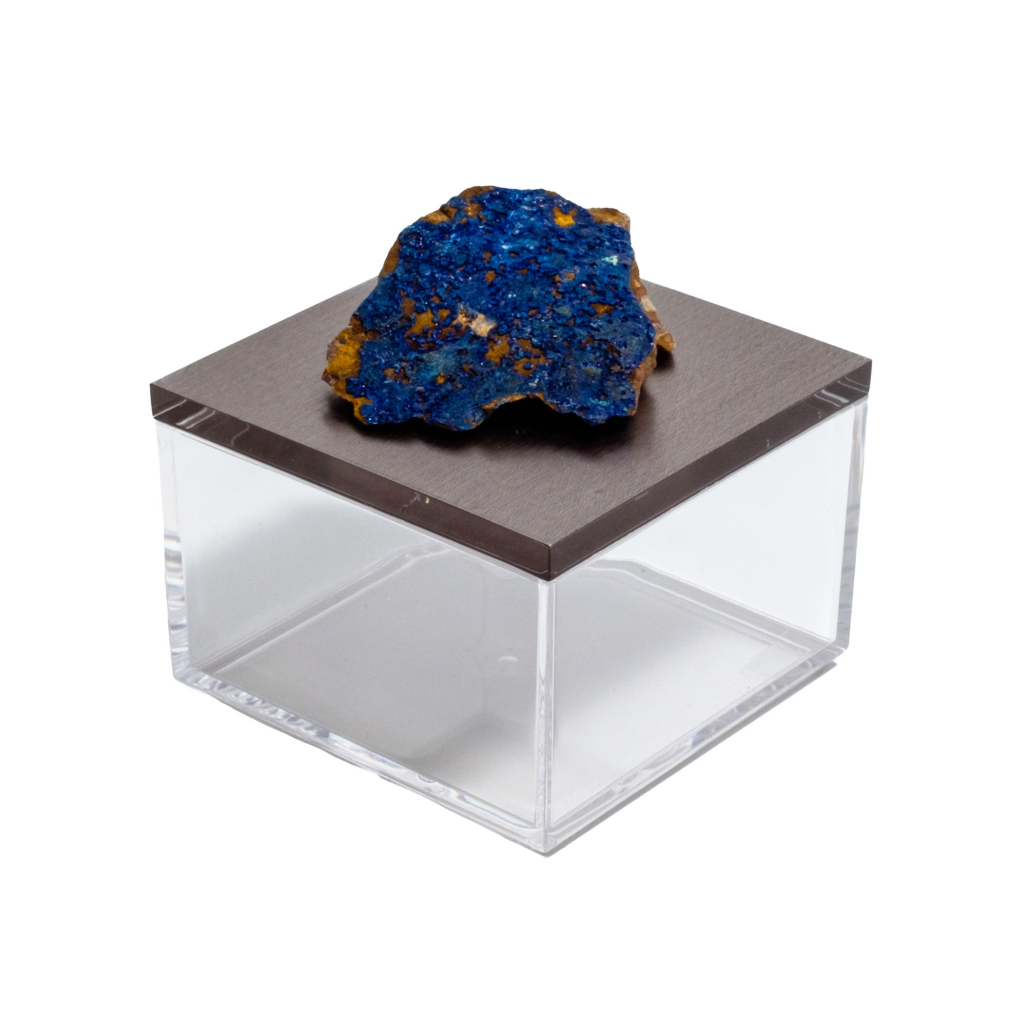 Gem box with Azurite by Mapleton Drive