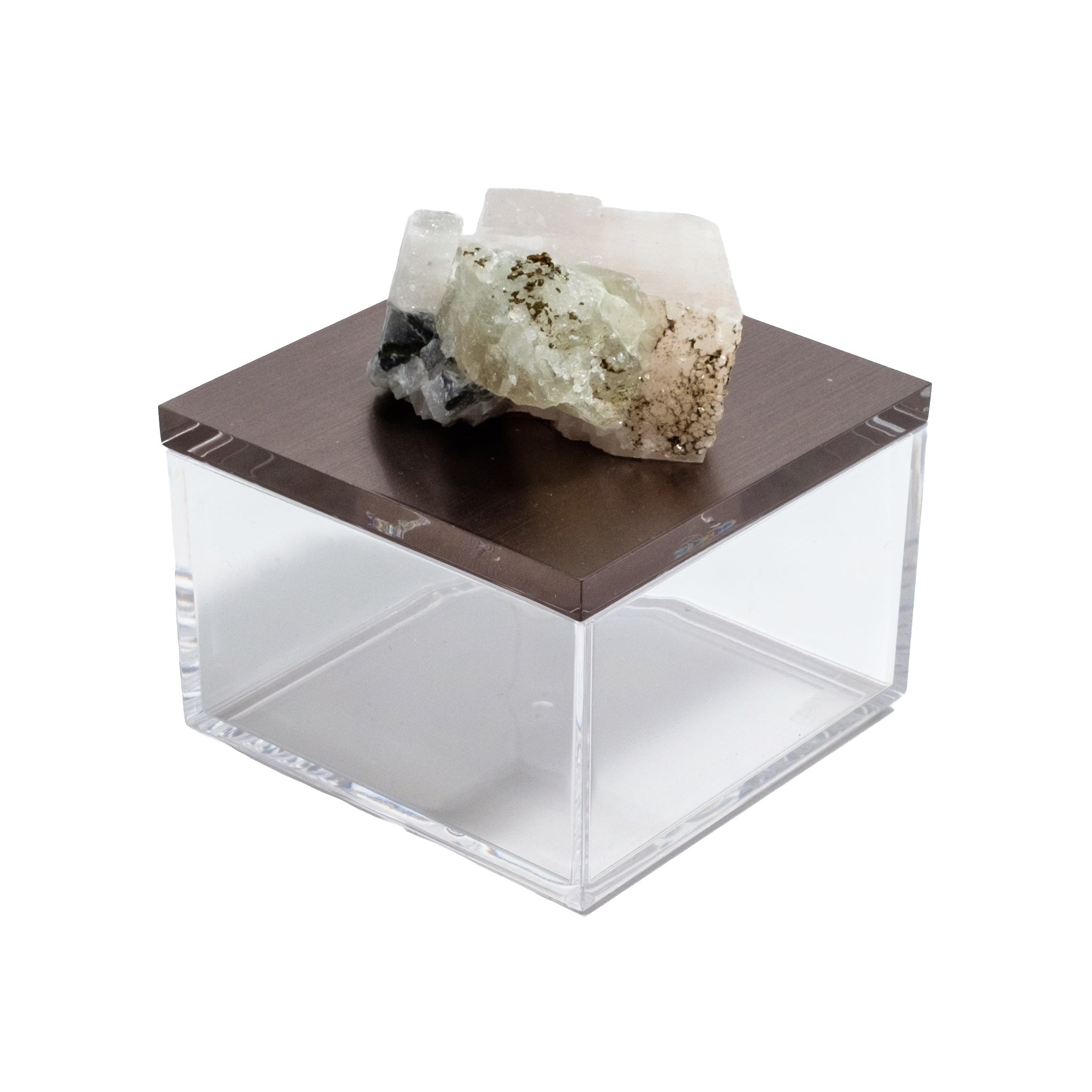Gem box with fluorite crystal by Mapleton Drive