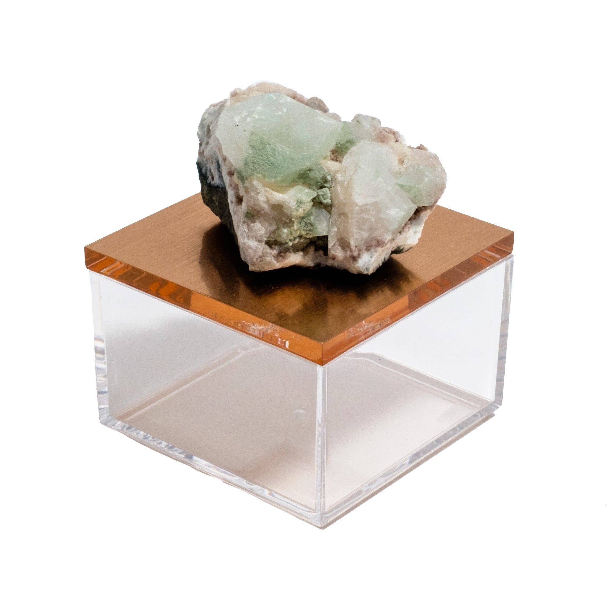 gemstone green apophyllite box by Mapleton Drive