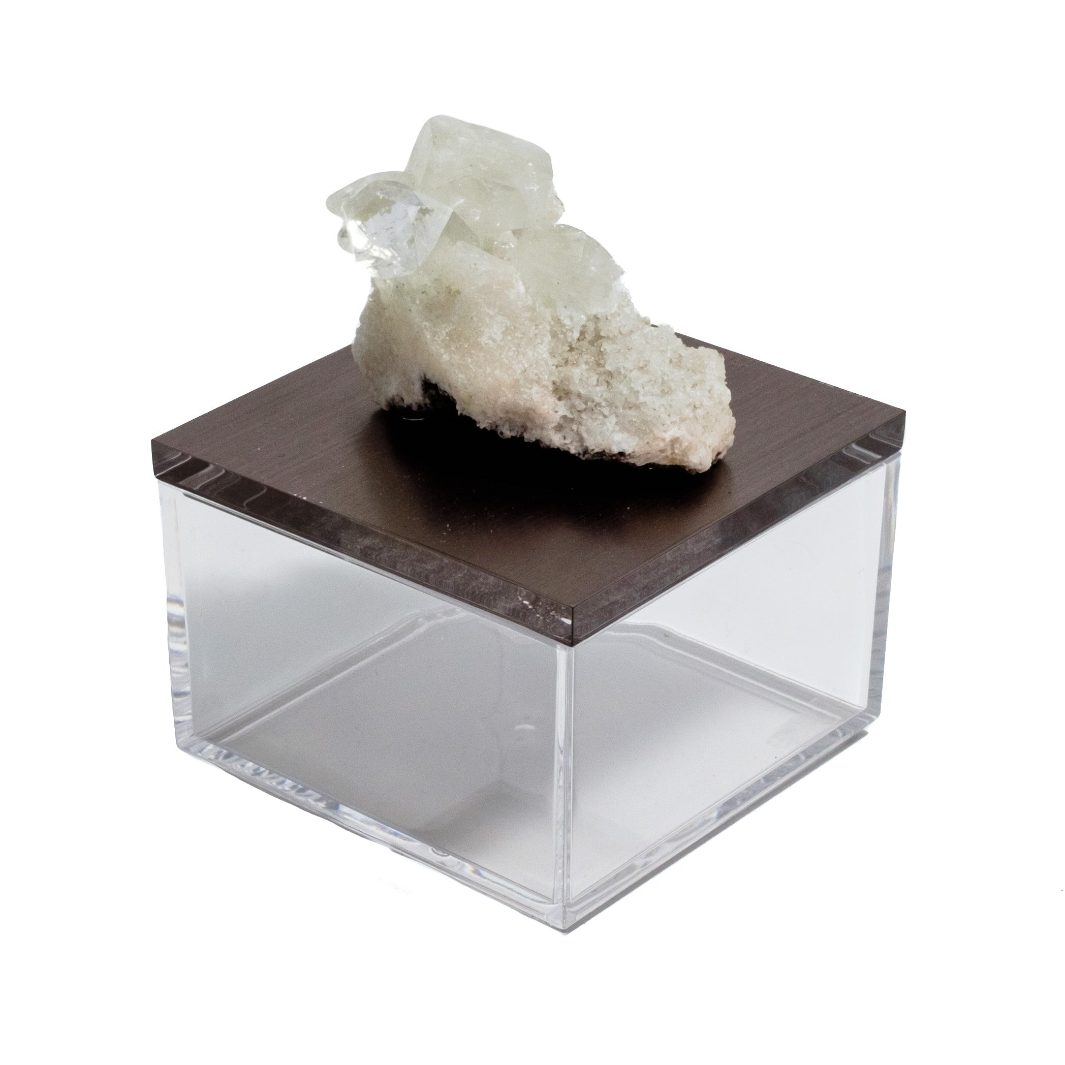 Apophyllite gemstone box by Mapleton Drive