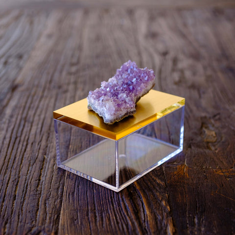 Gemstone box with Amethyst by Mapleton Drive