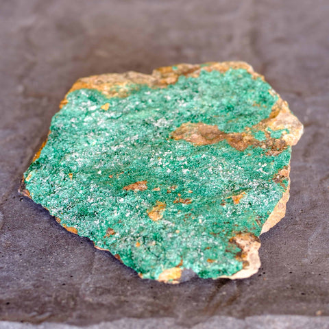 malachite specimen from Morocco by mapleton Drive