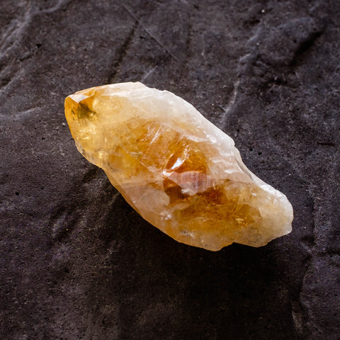 citrine crystal root by Mapleton Drive