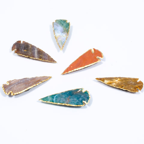 Agate Arrowhead Magnets