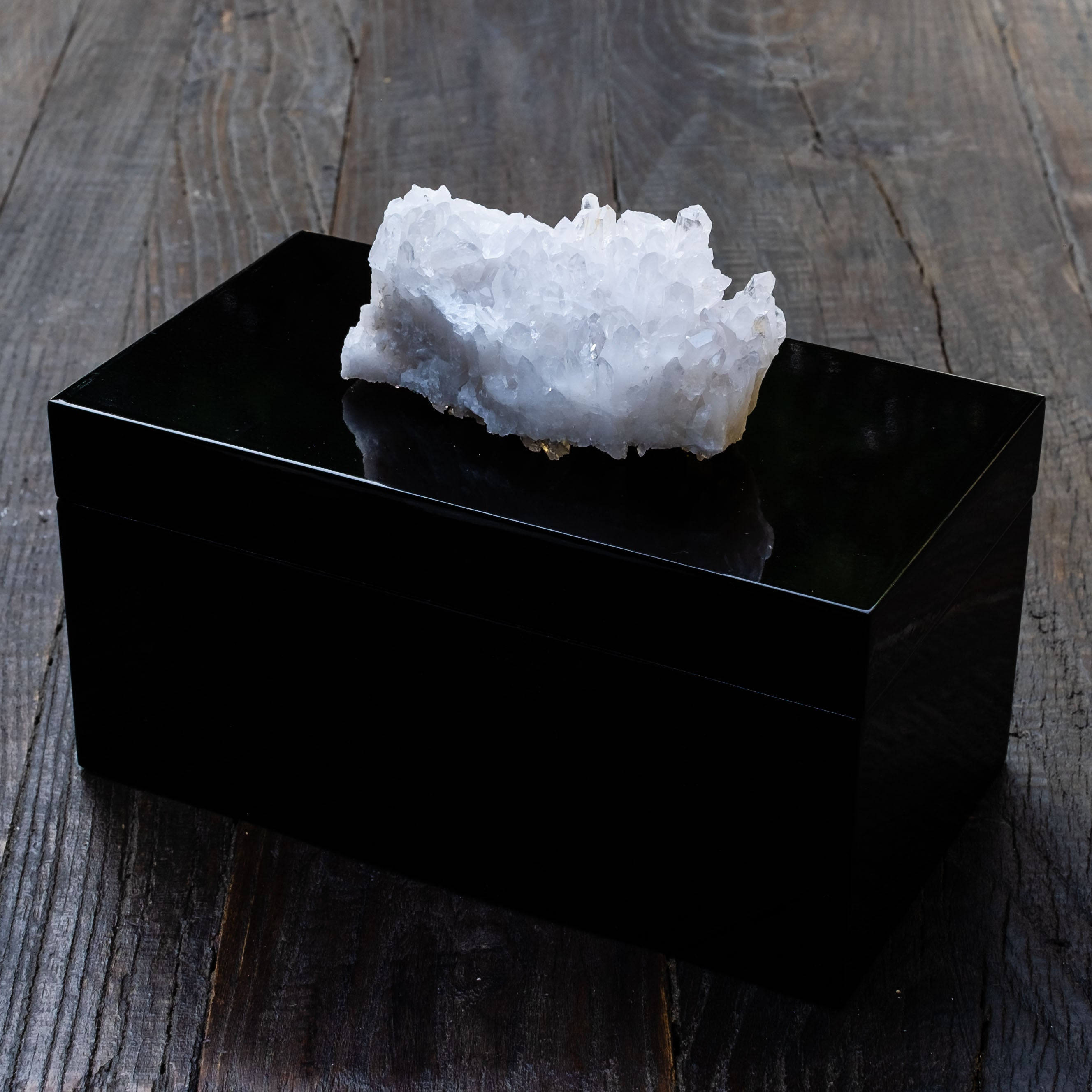Crystal Quartz boxes by Mapleton Drive