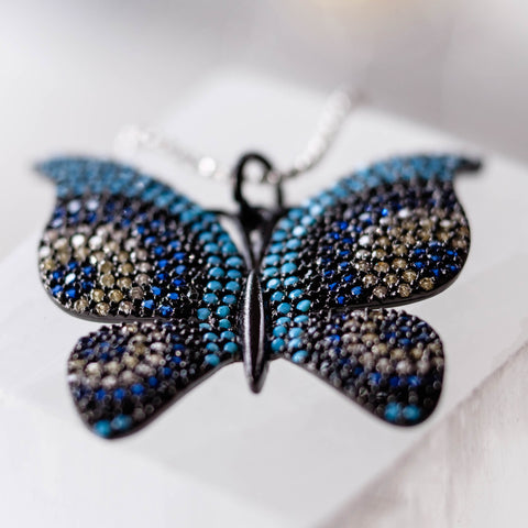 blue butterfly for the festivals