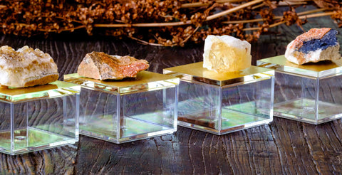 citrine gem boxes by Mapleton Drive