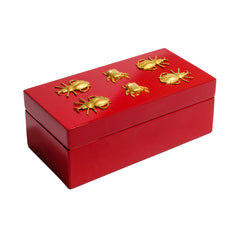 Red gift box by Mapleton Drive