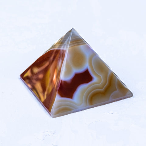 agate pyramid by Mapleton Drive