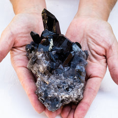 Black Smokey Quartz Crystals