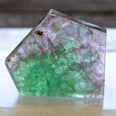 Fluorite Polished Irregular Specimen 4