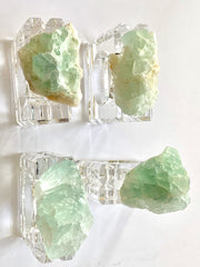 Fluorite Napkin Rings (set of 4)