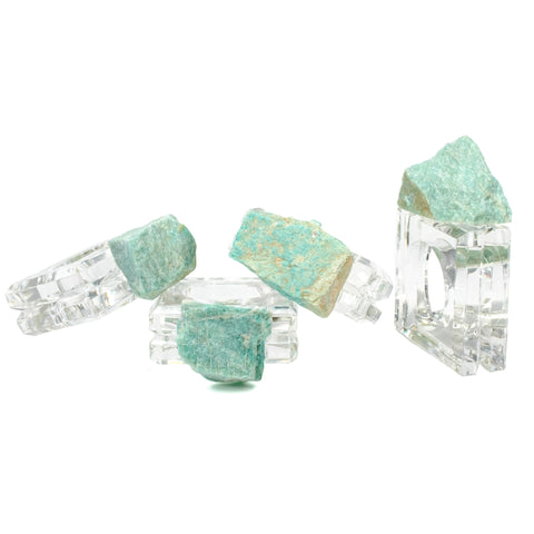 Amazonite Napkin Rings (set of 4)