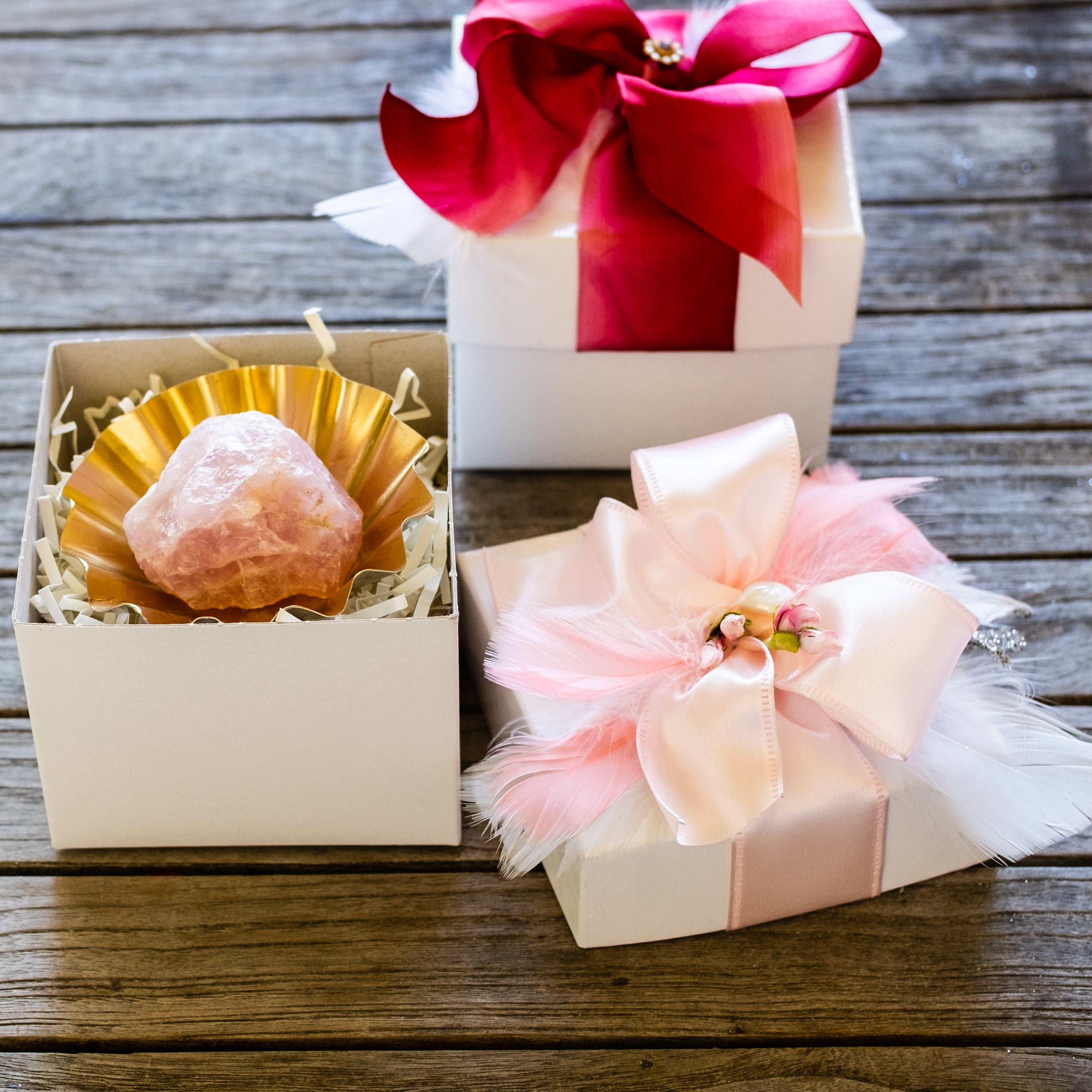 rock candy gift set by Mapleton Drive #rosequartz