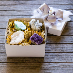 rock candy gift set by Mapleton Drive #Quartzcrystal