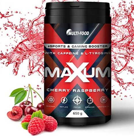 Maxum eSports & Gaming Booster von Multi-Food
