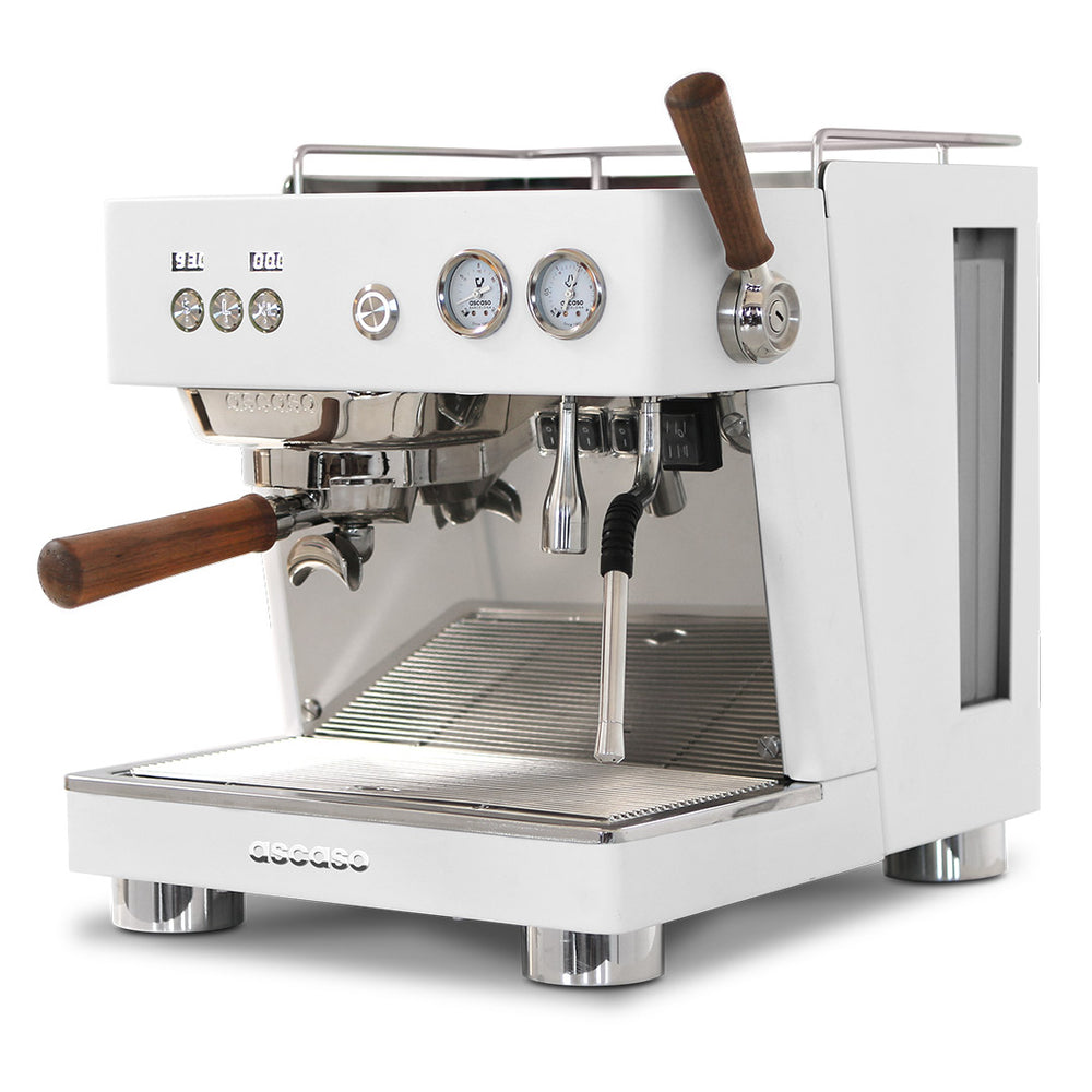 Baby T Plus, Automatic 1 Group Espresso Machine, with Thermodynamic Technology, 110V (White)