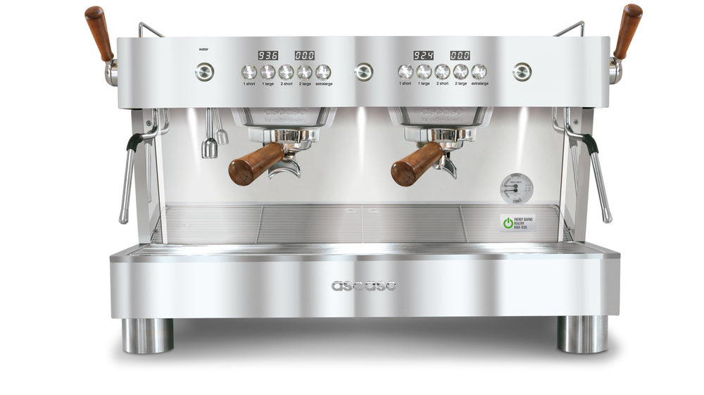 Barista T Plus, Automatic 2 Group Espresso Machine, with Thermodynamic Technology (Inox)