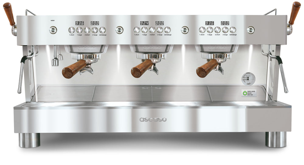 Barista T Plus, Automatic 3 Group Espresso Machine, with Thermodynamic Technology (Inox)