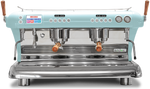 Big Dream Specialty, Automatic 2 Group Espresso Machine, with Thermodynamic Technology (Blue)
