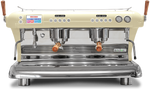 Big Dream Specialty, Automatic 2 Group Espresso Machine, with Thermodynamic Technology (Cream)