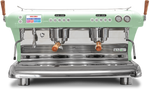 Big Dream Specialty, Automatic 2 Group Espresso Machine, with Thermodynamic Technology (Green)