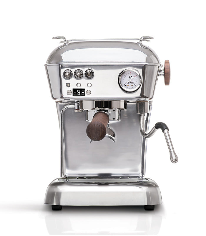 Dream PID, Programmable Home Espresso Machine w/ Volumetric Controls, 120V (Aluminum)