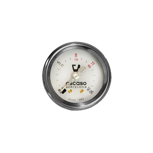 Ascaso Single Scale Pump Pressure Gauge