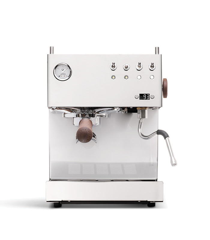 Steel UNO PID, Programmable Espresso Machine w/Volumetric Controls, Single Thermoblock, 120V (Inox)