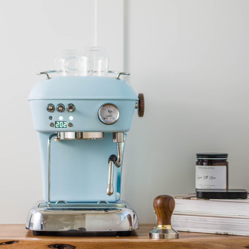ascaso dream pid blue home espresso machine
