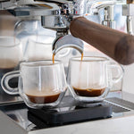 ascaso steel duo home espresso machine shots