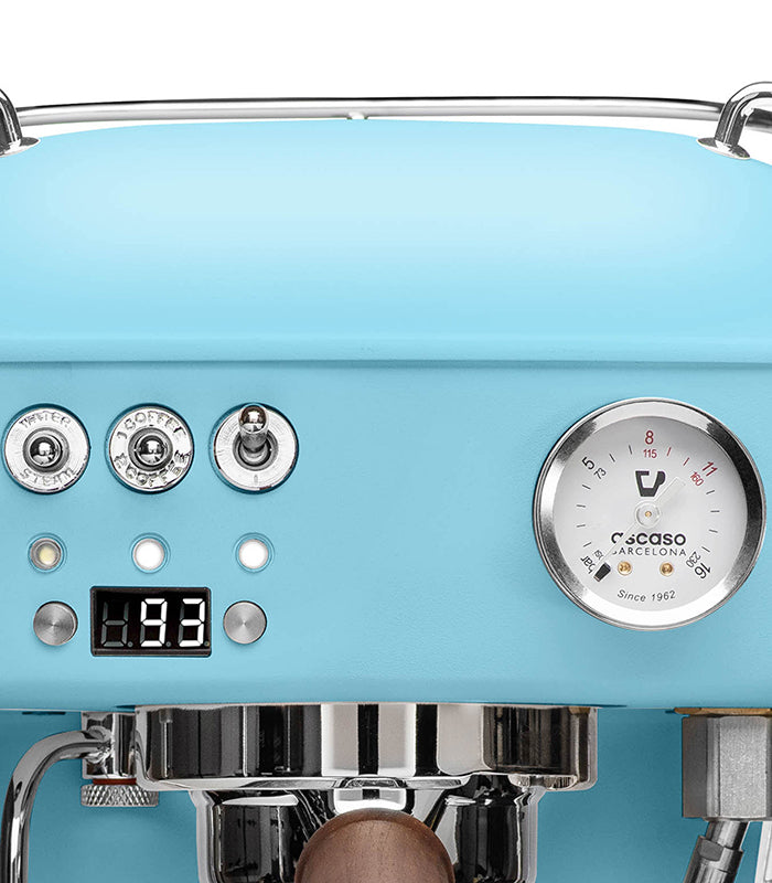 Dream PID, Programmable Home Espresso Machine w/ Volumetric Controls, 120V (Kid Blue)