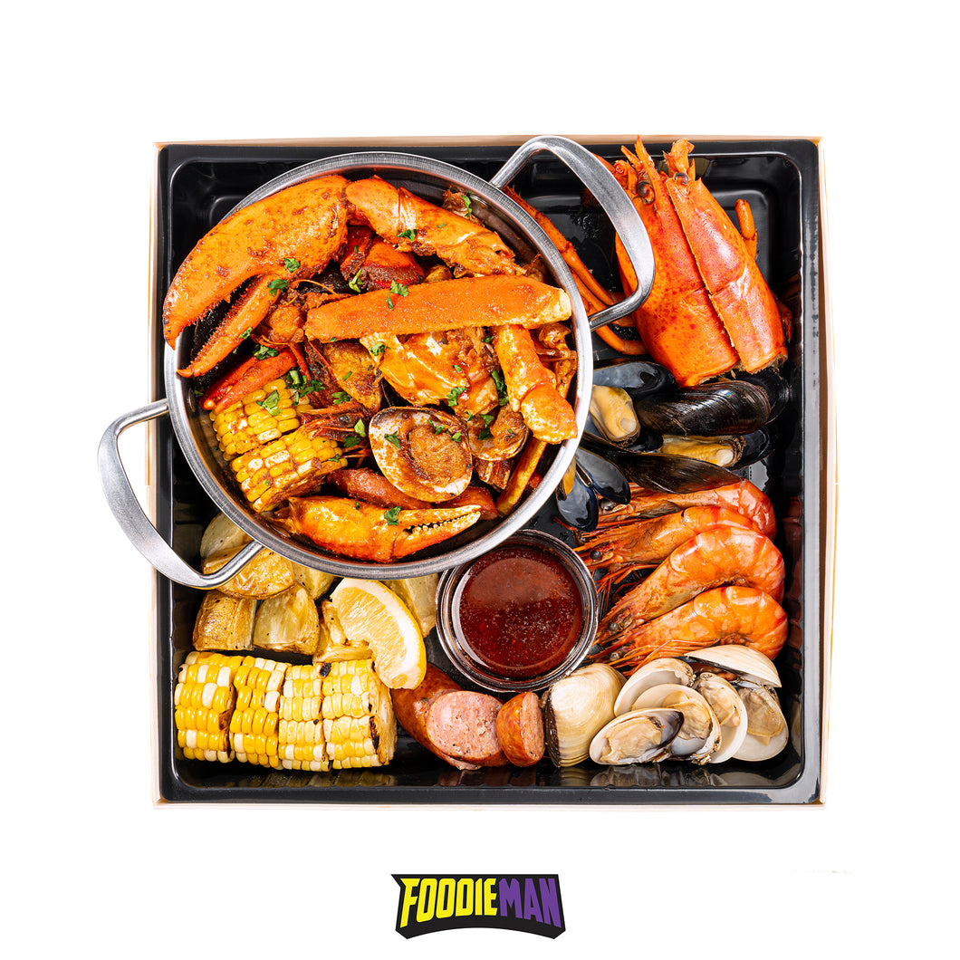 美式英雄盒 Cajun Hero Box - foodiemanhk