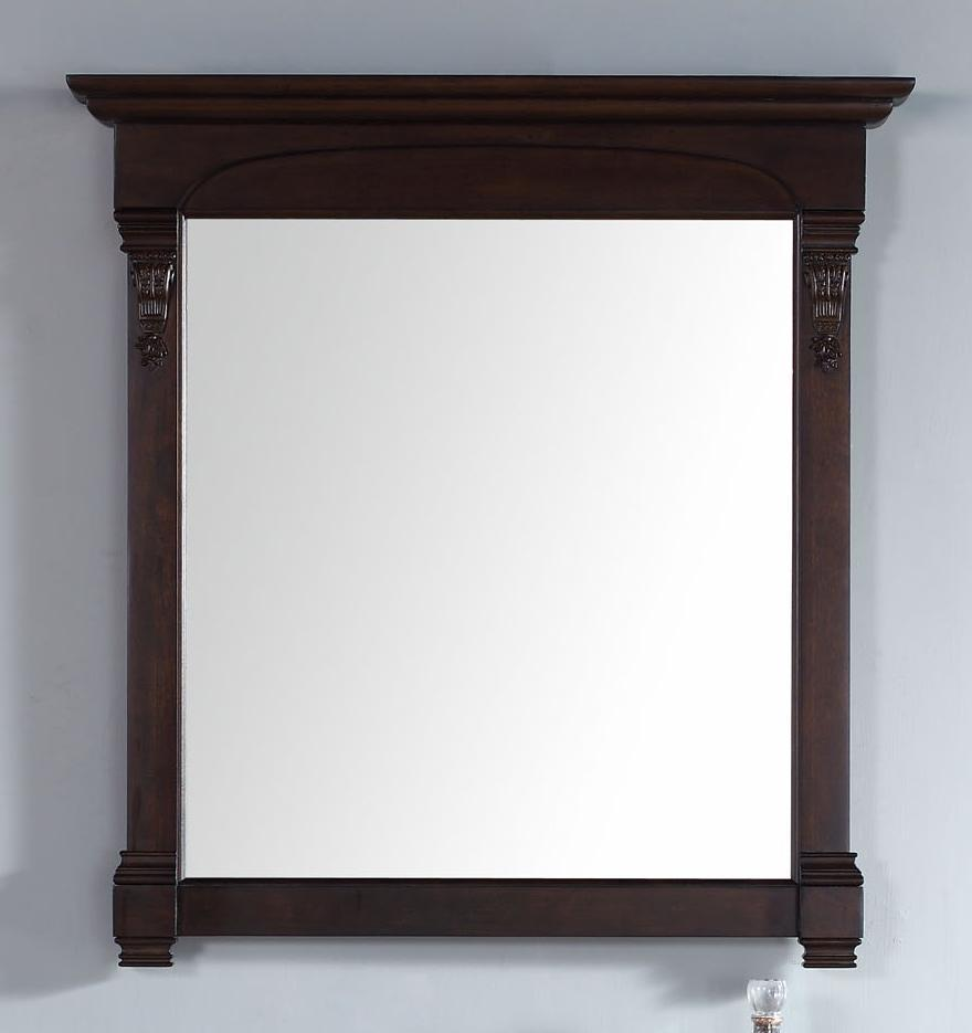 "Brookfield 39.5"" Mirror, Burnished Mahogany 147-114-5365"