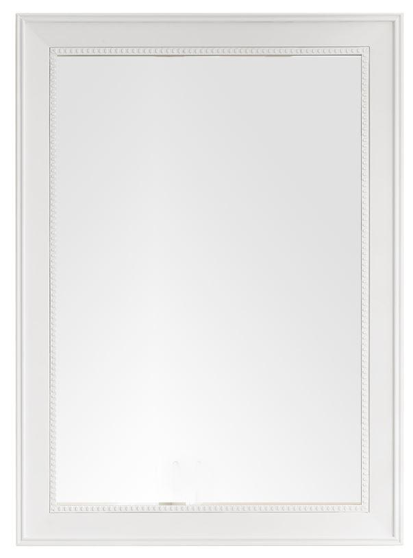 "Bristol 29"" Rectangular Mirror, Bright White 157-M29-BW"
