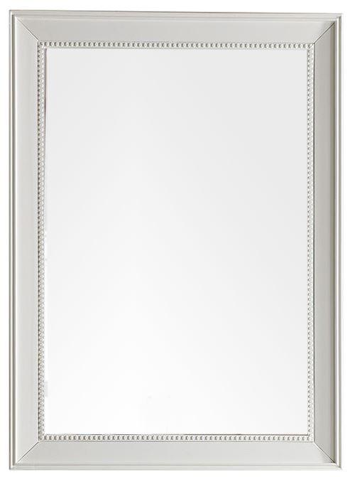 "Bristol 29"" Rectangular Mirror, Cottage White 157-M29-CWH"