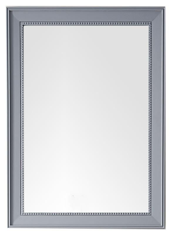 "Bristol 29"" Rectangular Mirror, Silver Gray 157-M29-SL"