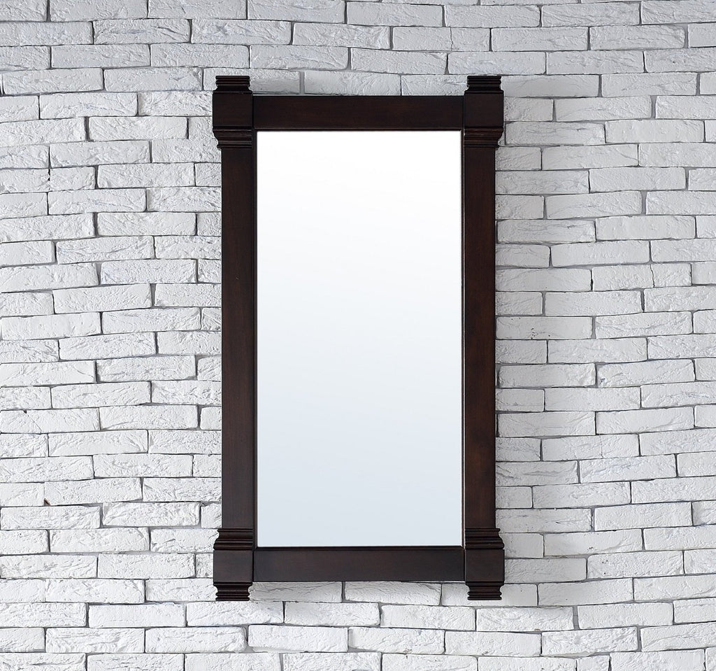 "Brittany 22"" Mirror, Burnished Mahogany 650-M22-BNM"