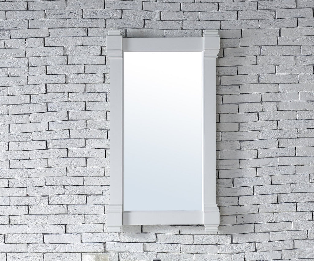 "Brittany 22"" Mirror, Cottage White 650-M22-CWH"